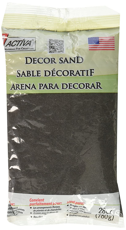 Amazon activa decor sand 28oz black arts crafts sewing reviewsmspy