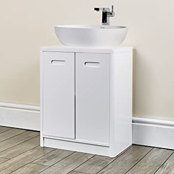 New Under Sink Cabinet Bathroom White Furniture For Fitting