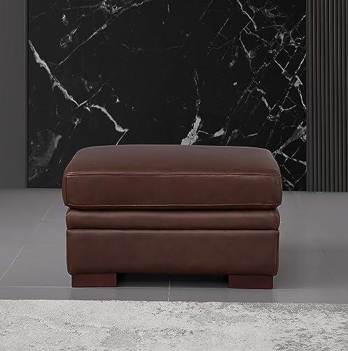 Hydeline Dillon 100 Leather Ottoman