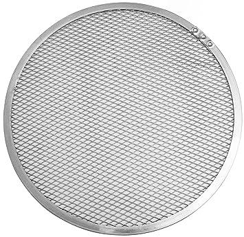 Silber 50 x 50 x 20 cm Aluminium FMprofessional Pizza-Screen