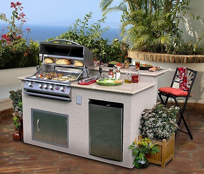 Amazon.com: Cal Flame e6016-Z Metador e6016 Outdoor BBQ ...