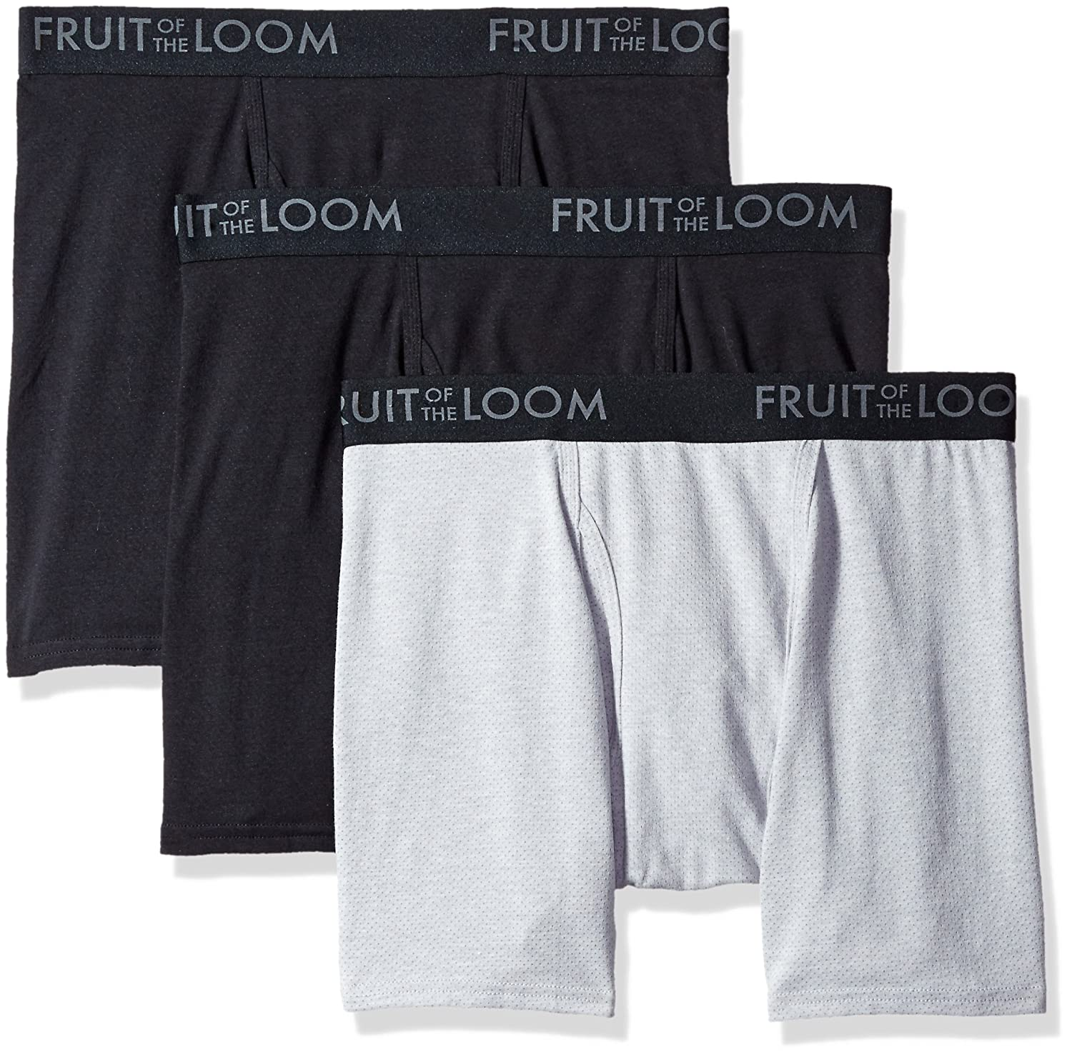 Fruit Of The Loom Men S 3 Pack Boxer Briefs Cooling