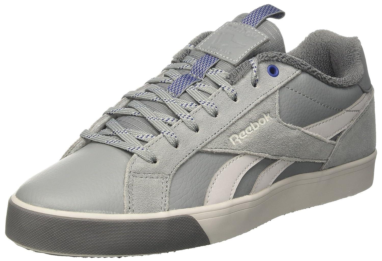 Reebok Herren Royal Complete 2lw Sneaker  405 EU|Grau (Flint Grey/Noir Skull Grey/Alloy/Deep Cobalt)