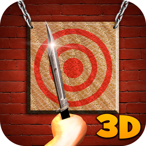 Bullseye Hunting Knife - Throwing Knives Tournament 3D