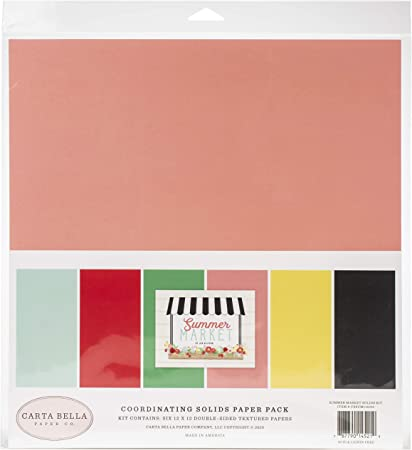 Carta Bella ~ SUMMER MARKET ~ 12x12 Collection Kit