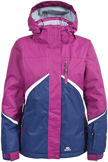 a54fd12f6304 Amazon.com   Trespass Women s TP50 Elgin Ski Jacket   Sports   Outdoors