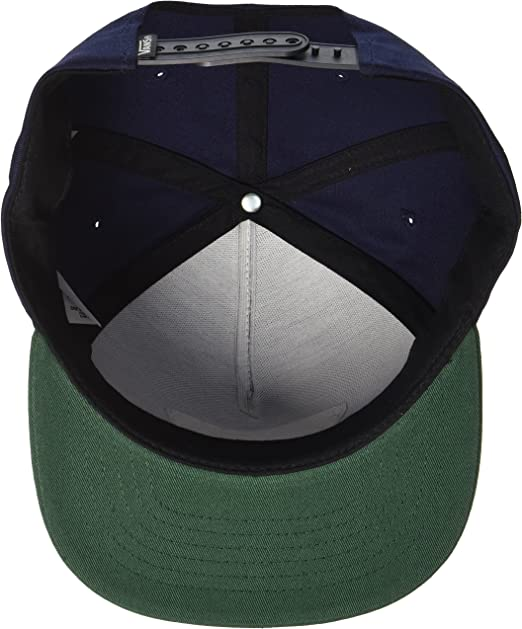 Vans Full Patch Snapback Gorra de béisbol, Hombre, Black Iris ...