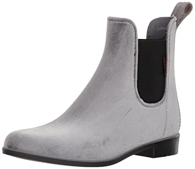 Women's Waterproof Fashion Velvet Bootie With Memory Foam Chelsea Boot