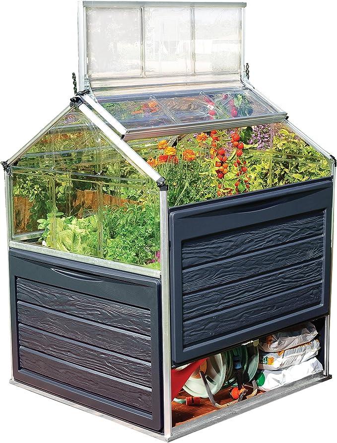 Invernadero de jardín de Vegetales Gaya 1,2 m²: Amazon.es: Jardín