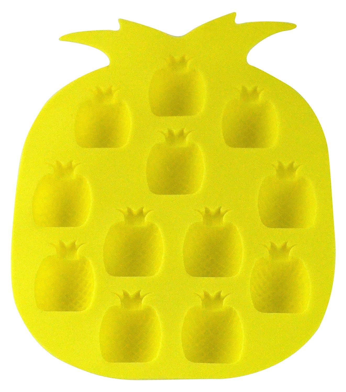 Fairly Odd Novelties Pineapple Ice Cube Tray/Candy Mold, Yellow FON-10193