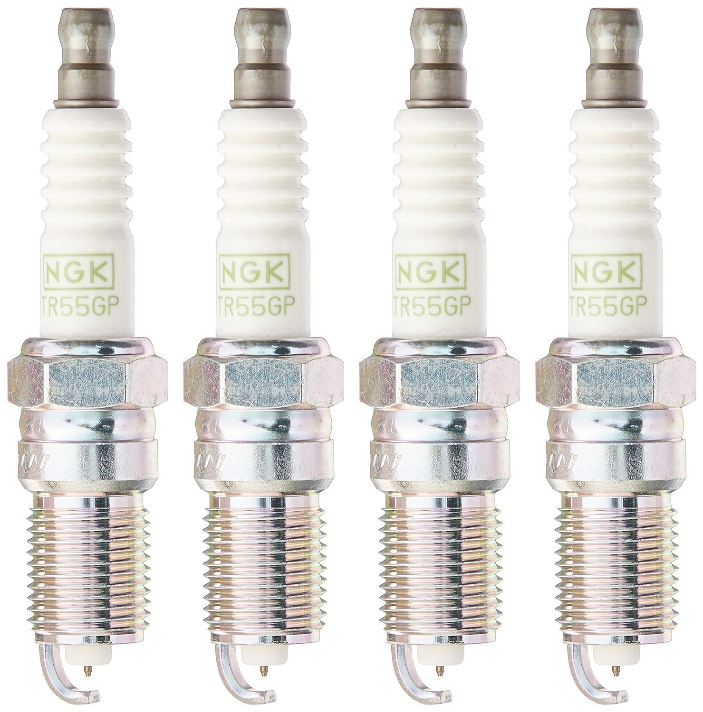 NGK 3403 G-Power Platinum Alloy Spark Plug TR55GP by NGK 4 PCS NEW *