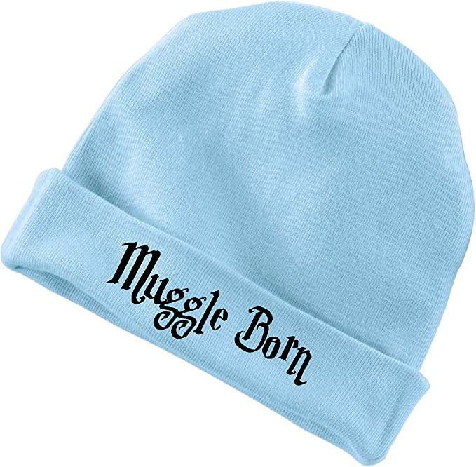 BeeGeeTees Funny Baby Born Wizard Cap Soft Cute Hat (Blue)