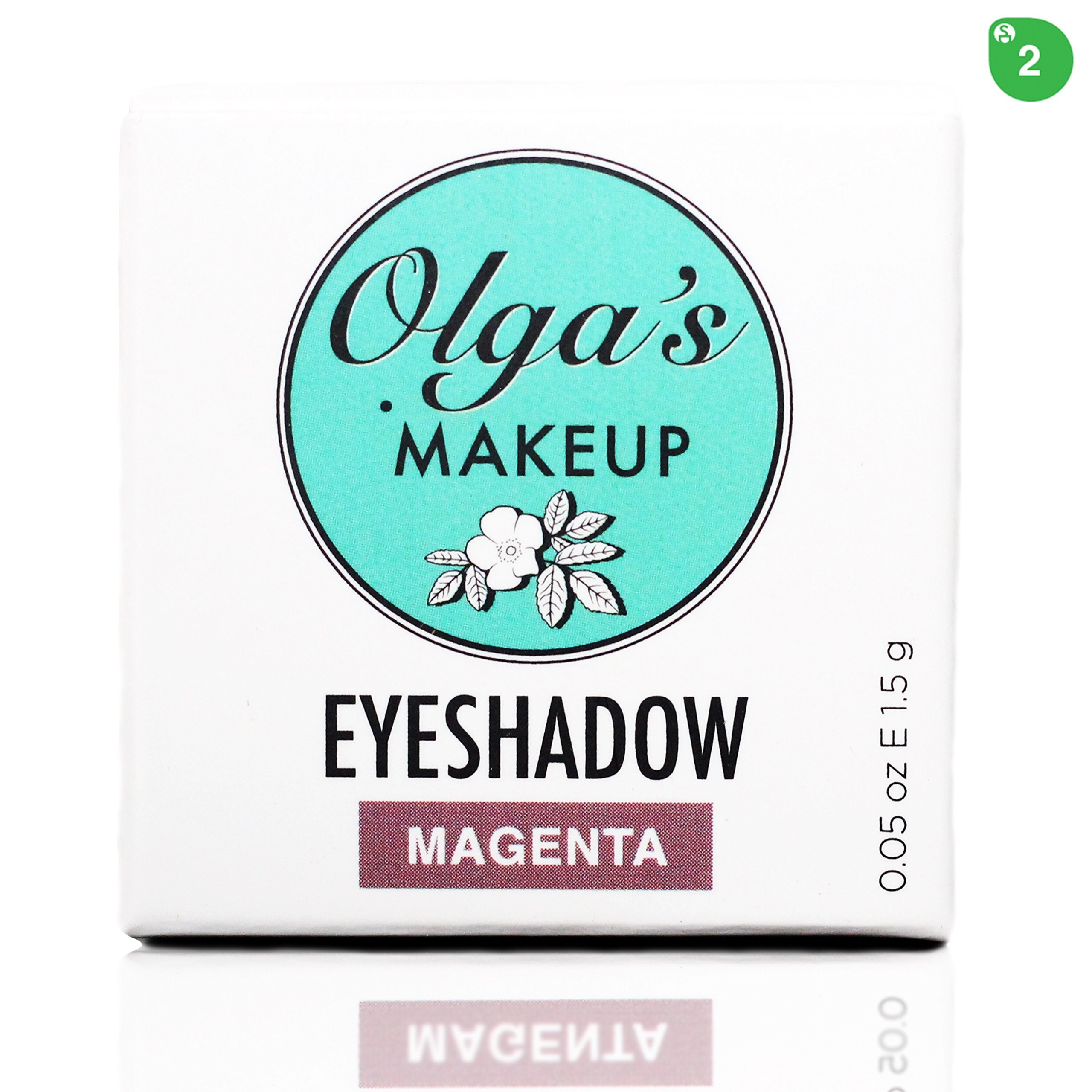 Organic & Mineral Eyeshadow - Magenta