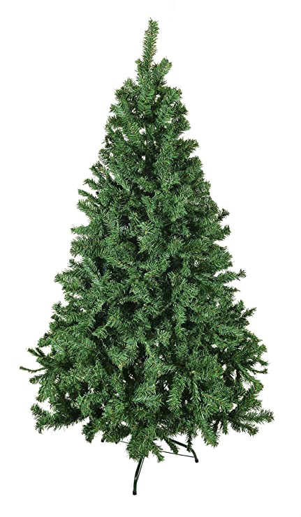 Christmas Trees Artificial.Luxury 5ft 6ft 7ft 8ft 9ft 10ft 12ft Green Artificial Christmas Trees Bushy High Tip Count Xmas Trees 6ft 180cm