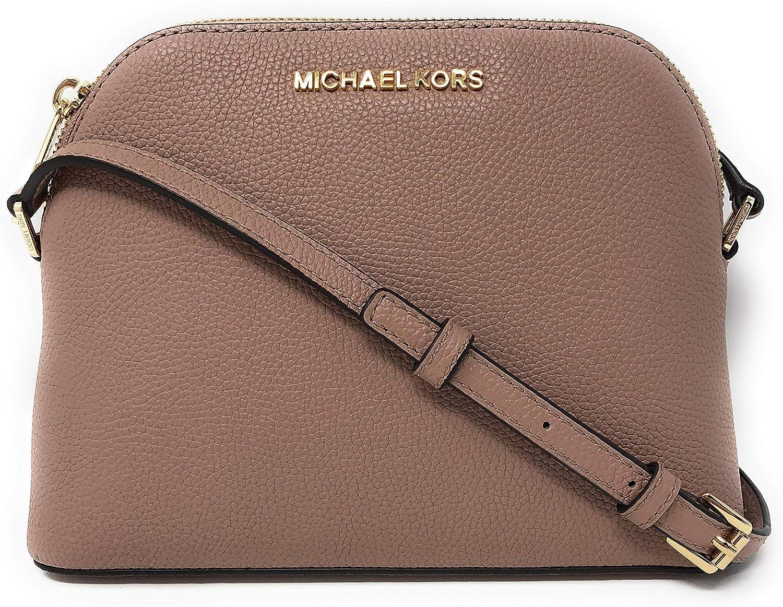 Michael Kors Women's Adele Studded Medium Dome Crossbody Bag