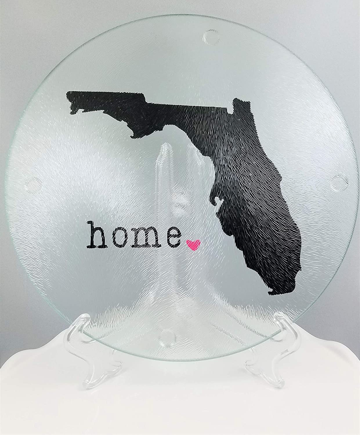 Florida Cutting Board/Plate - Florida Home Heart