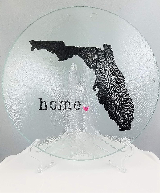 Florida Cutting Board/Plate - Florida Home Heart