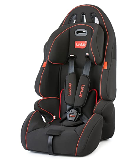 7f0befb2c4f9 Buy LuvLap Premier Baby Car seat - Black (for Babies from 9 Months - 12  Years) Online at Low Prices in India - Amazon.in