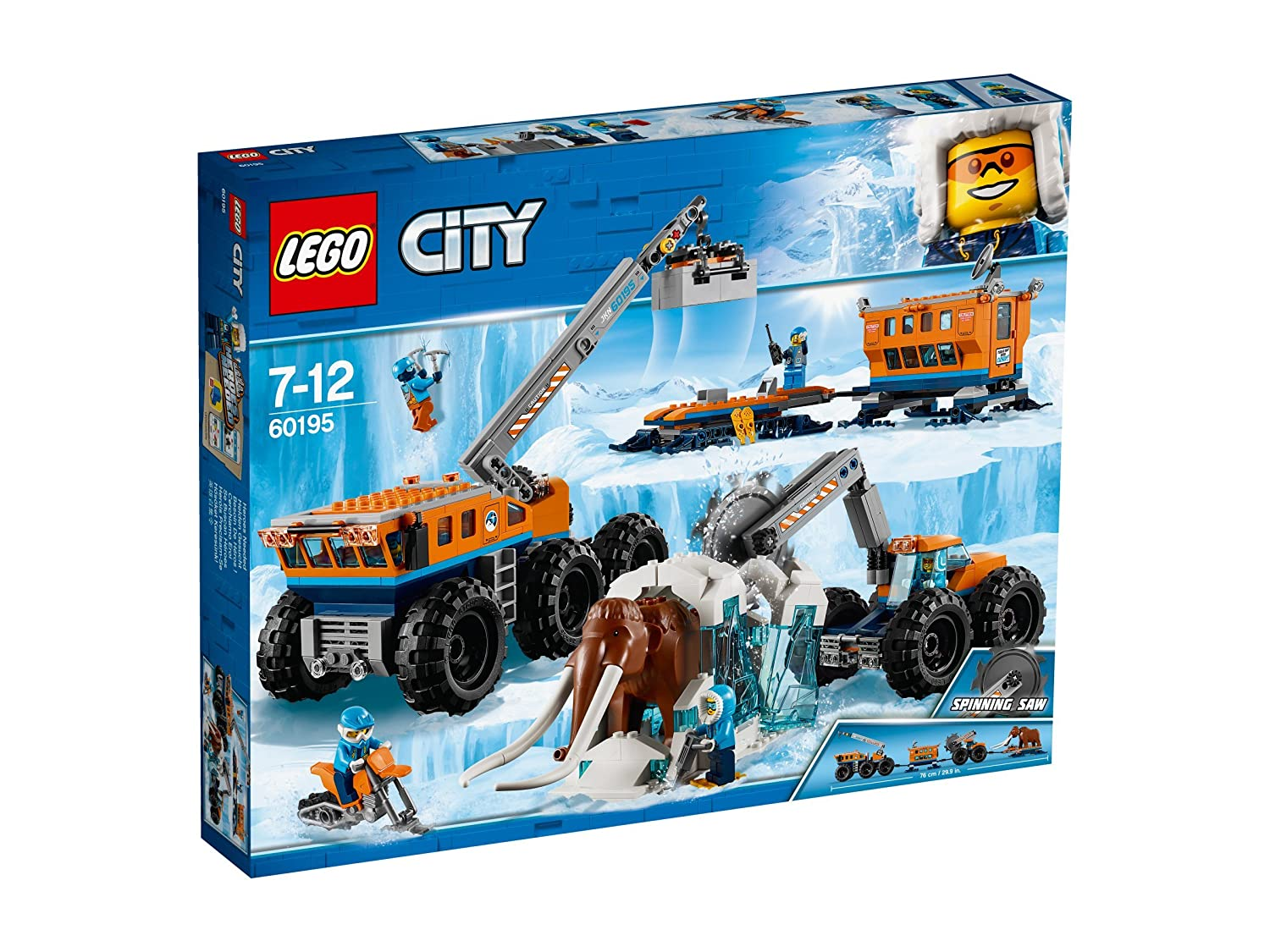 Lego City Base Mobile di esplorazione artica, 60195 No Name
