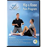 RehabZone Hip and Knee Pain Program: Physician Endorsed Home Rehabilitation DVD Program Created for Those Seeking to Reduce Hip or Knee Pain