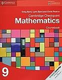 Cambridge Checkpoint Mathematics. Coursebook Stage 9 (Cambridge International Examinations)