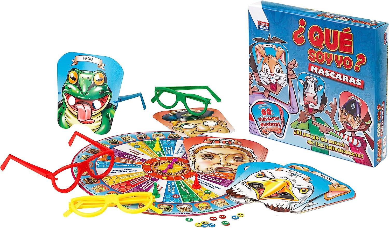 Falomir Máscaras. Juego de Mesa. Infantil. (28415): Amazon.es ...