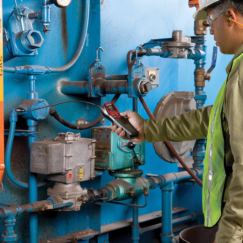 RIDGID 36163 Detector de gas combustible Modelo micro CD-100, Detector de fugas de gas: Amazon.es: Industria, empresas y ciencia