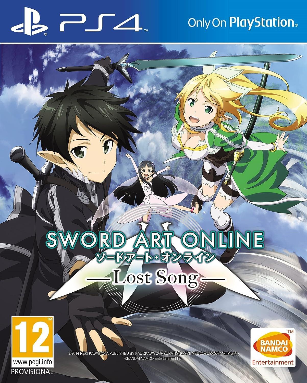 Amazon Com Sword Art Online Lost Song Ps4 Video Games