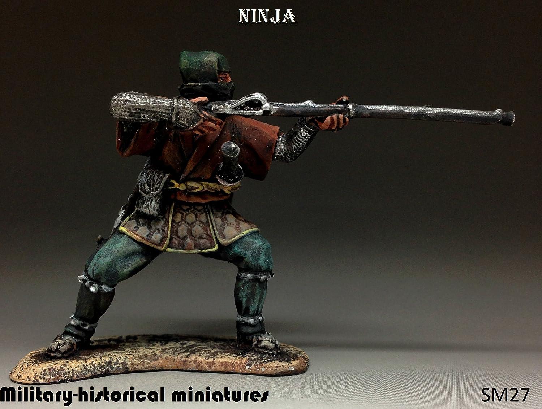 Amazon.com: Minigenios militares-históricos Ninja pintados a ...