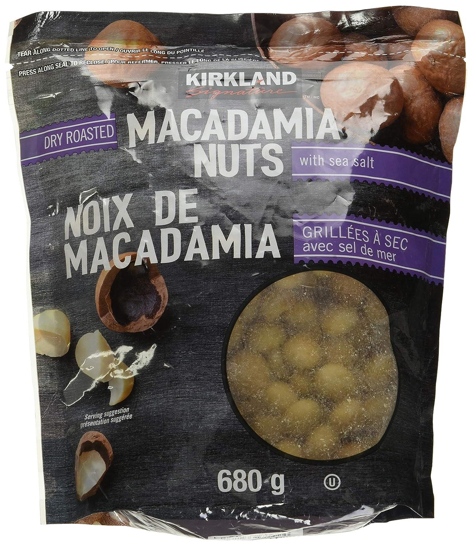 KIRKLAND SIGNATURE Roasted Macadamia Nuts (Net Wt 24 Ounce ),