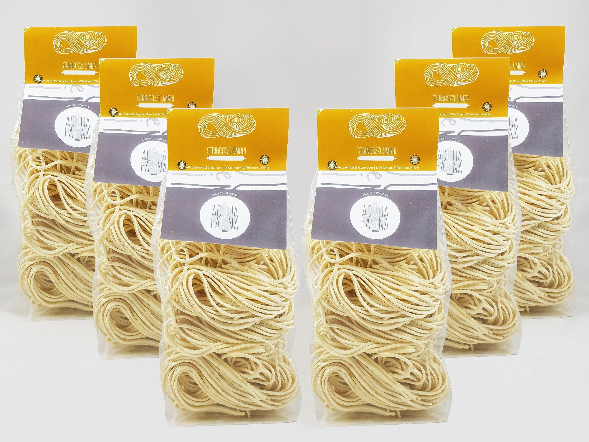 Stringozzi Pasta 17.6 oz pack of 6