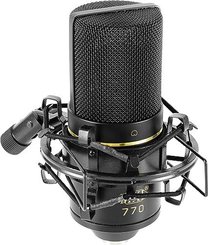 MXL 2006 Condenser Microphone w// Shock Mount /& Case Mic