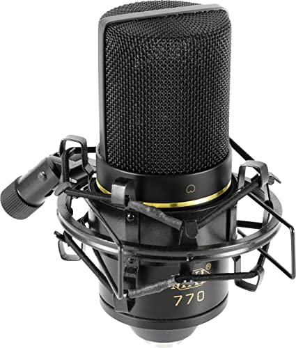 Review MXL 770 Cardioid Condenser Microphone