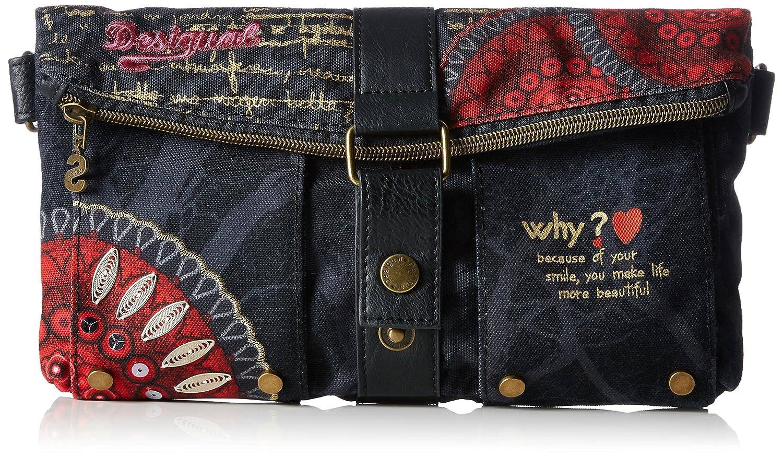 Desigual Bolas Rojas-Carry, Bolso Bandolera para Mujer, Rojo (Carmin),  2x24x26.5 cm (B x H x T): Amazon.es: Zapatos y complementos