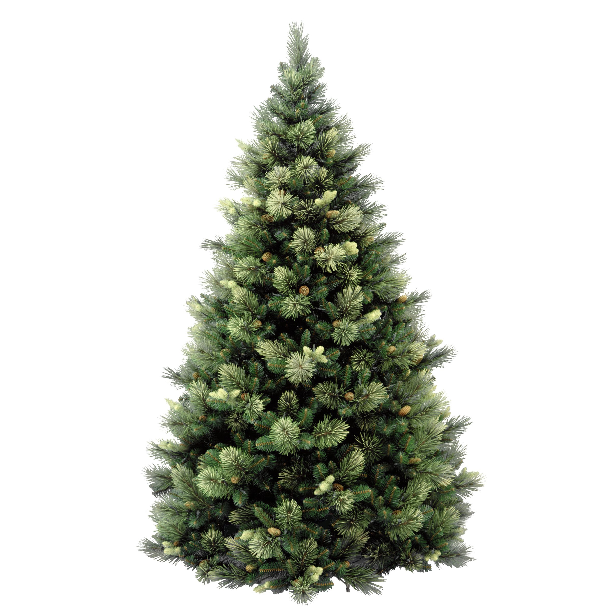 National Tree 7.5 Foot Carolina Pine Tree with Flocked Cones and 750 Clear Lights, Hinged (CAP3-306-75) by National Tree Company (Image #5)