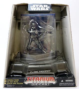 Star Wars Titanium Series Clone Trooper