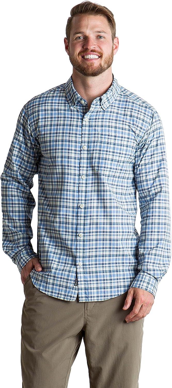 ExOfficio Men's Sol Cool Chill Plaid Long-Sleeve Shirt