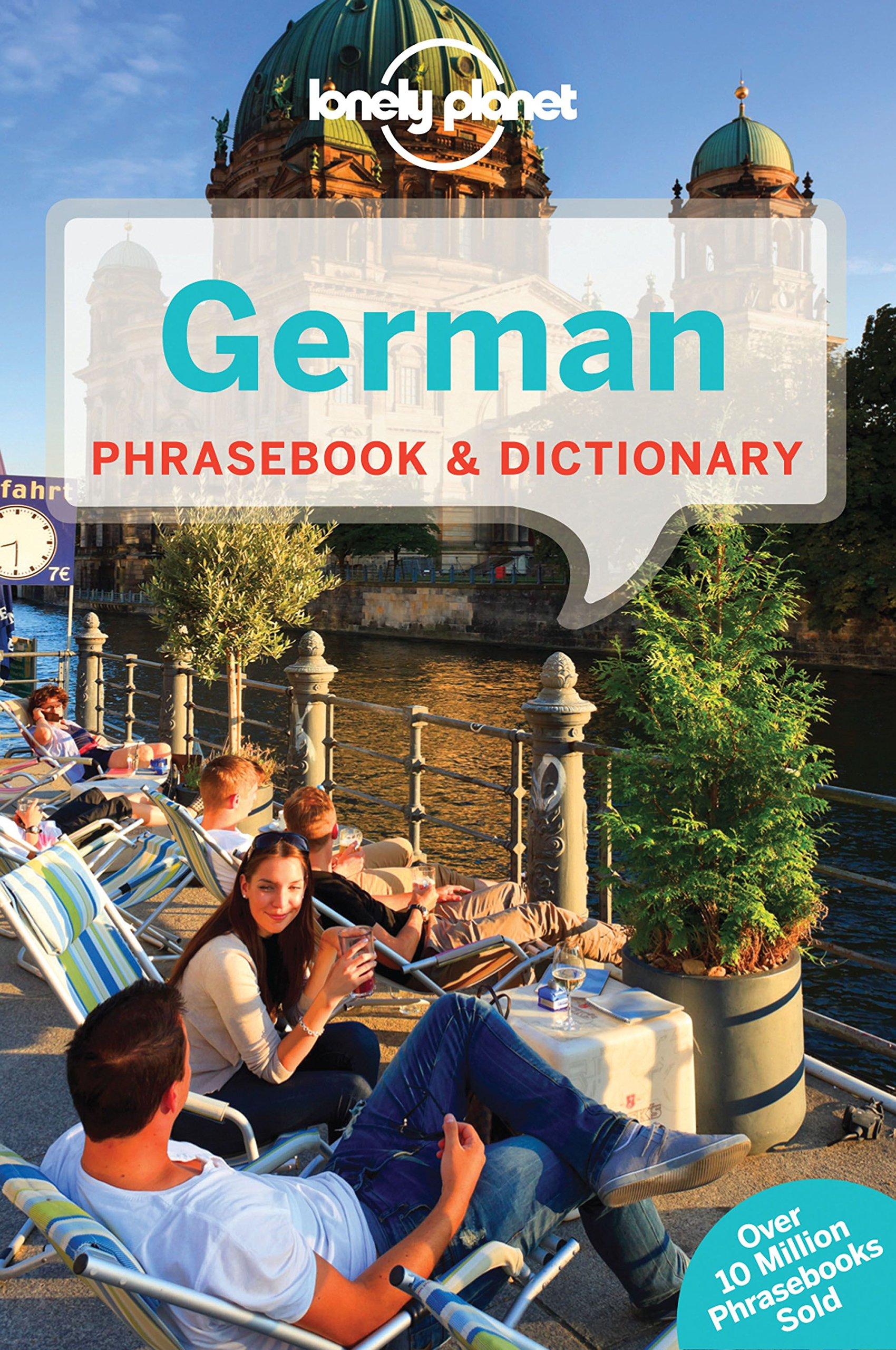 Lonely Planet German Phrasebook Dictionary