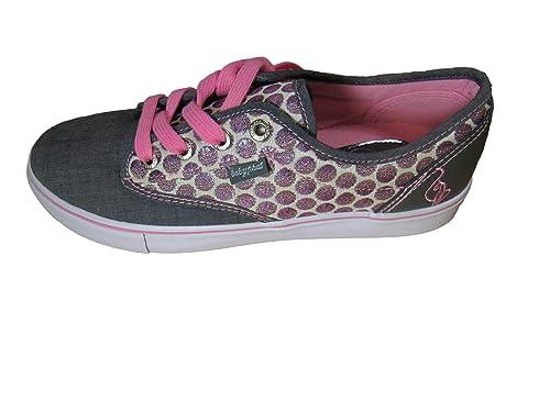 8b20d67c3cf Baby Phat Womans Polka-dot Porter Chambray Slip-on Sneaker (6.5