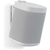 (Single, White) - Flexson Wall Mount for Sonos One - White