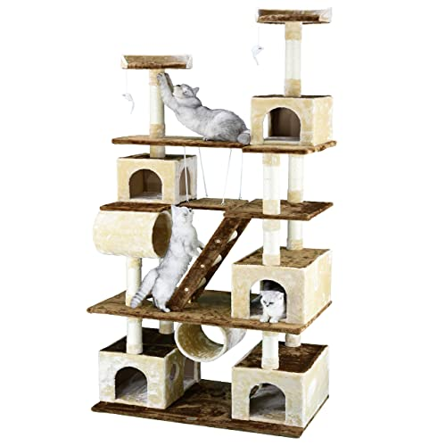 Creative Cat Towers: Cat Tree For Big Cats: Amazon.com