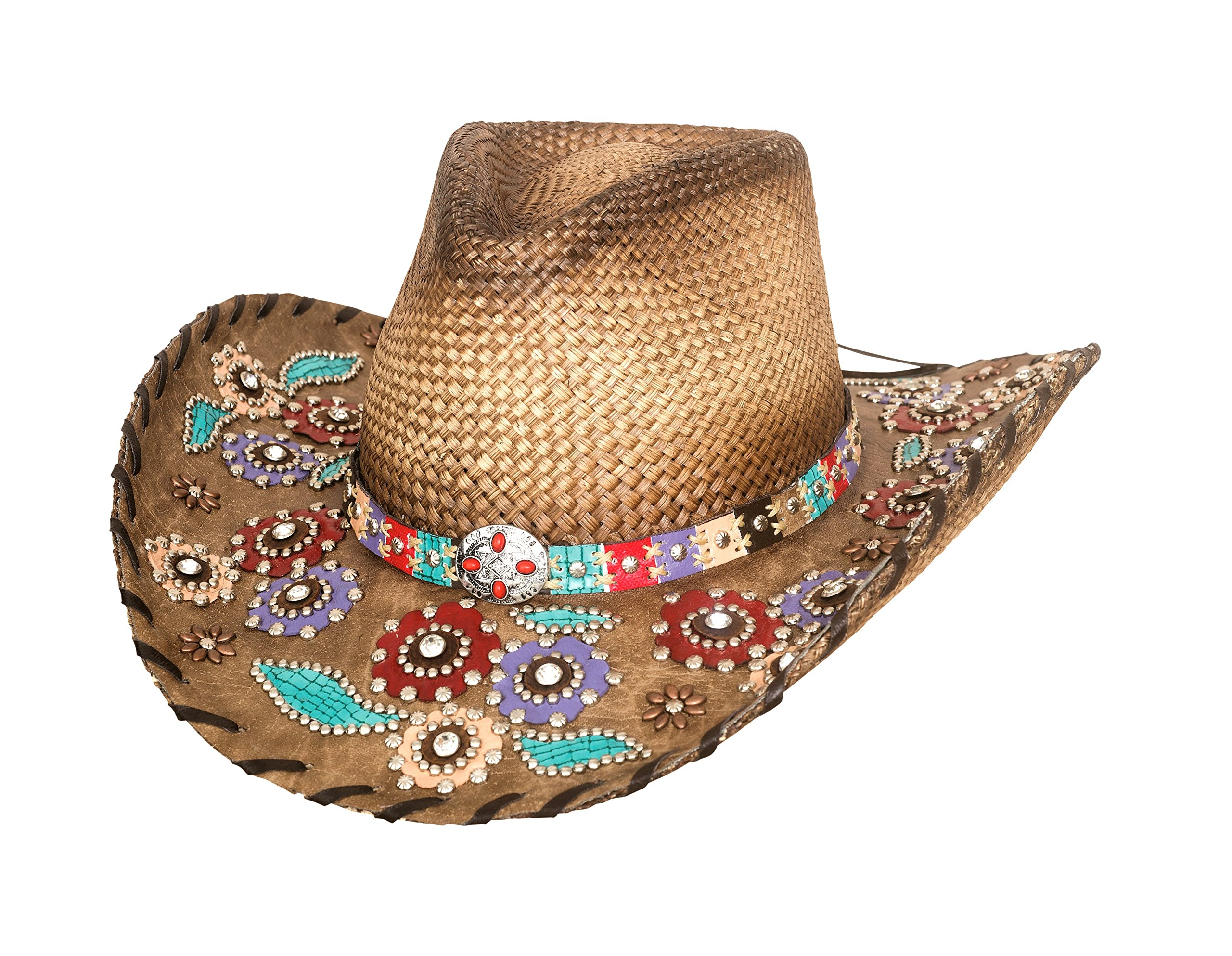 Bullhide Women's Setting The World Panama Straw Cowgirl Hat by Bullhide Hats