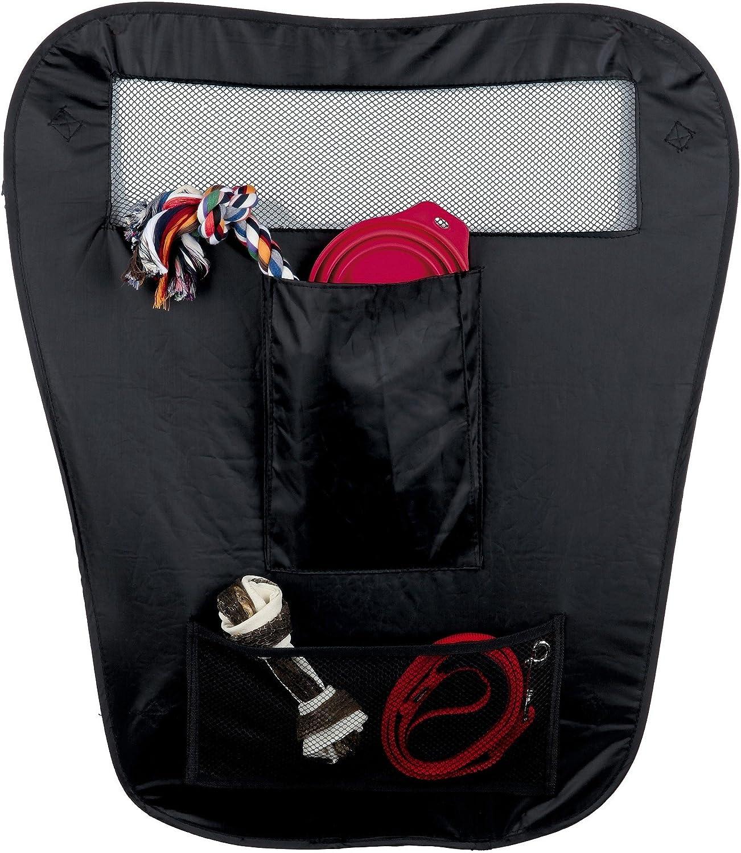Trixie Cloison de S/écurit/é Pliable en Nylon pour Voiture pour Chien Noir 60//44 /× 69 cm