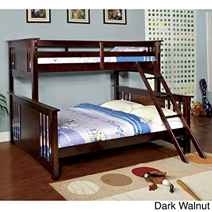 Amazoncom Furniture Of America Solid Wood Mission Style Junior