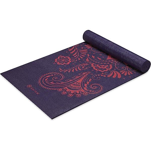Amazon.com : Kindfolk Yoga Mat Tote Bag Carrier Patterned ...