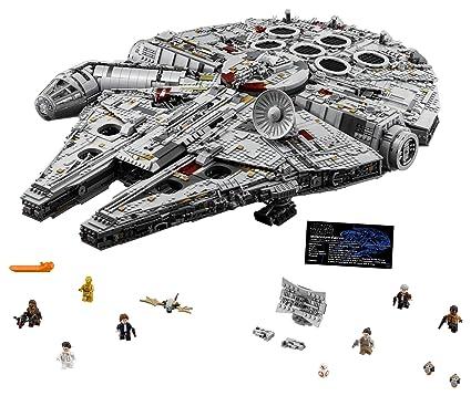 Amazon.com: LEGO Star Wars Ultimate Millennium Falcon 75192 Building ...