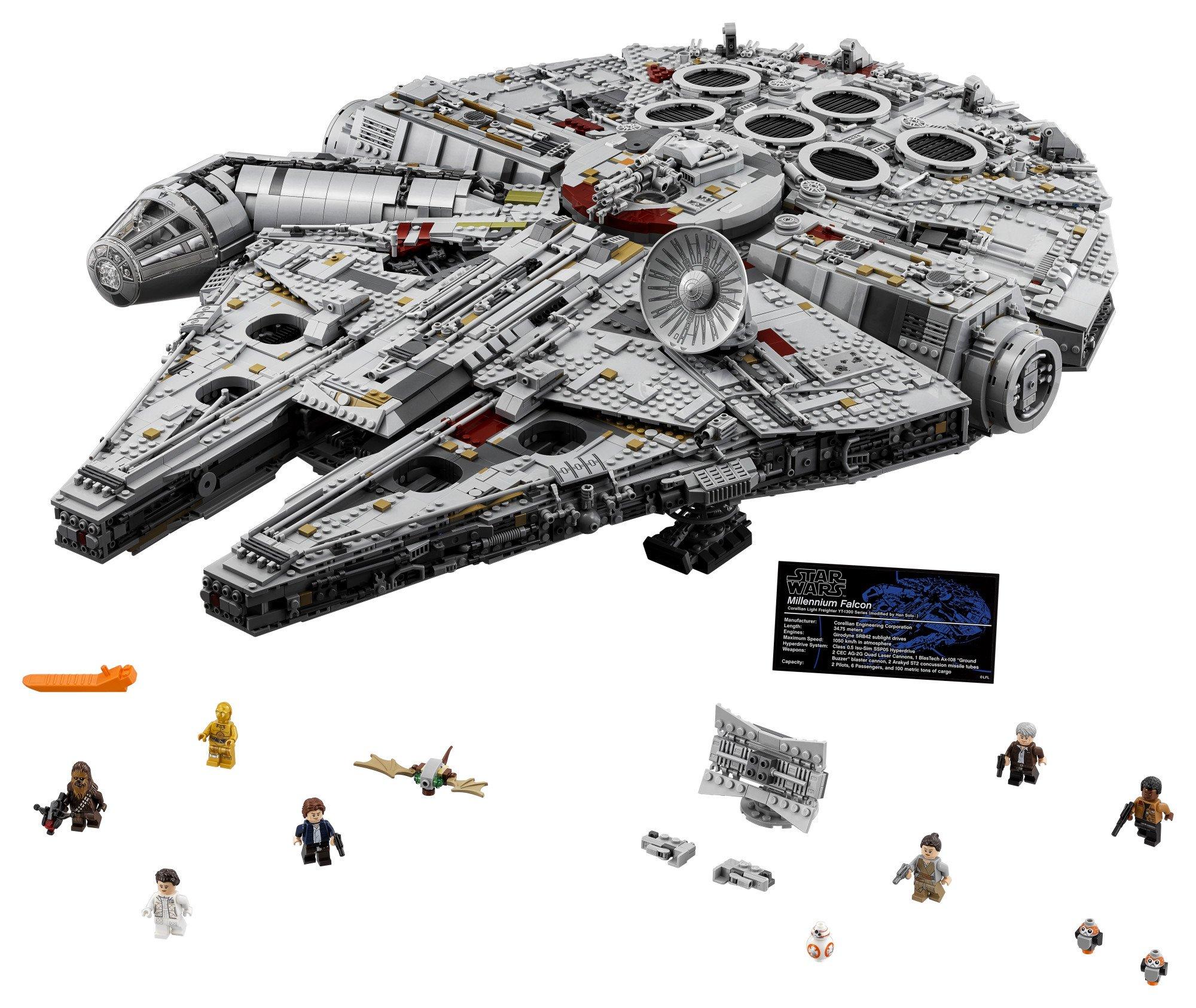 LEGO Star Wars Millennium Falcon 75192 Building Kit (7541 Piece) by LEGO (Image #1)