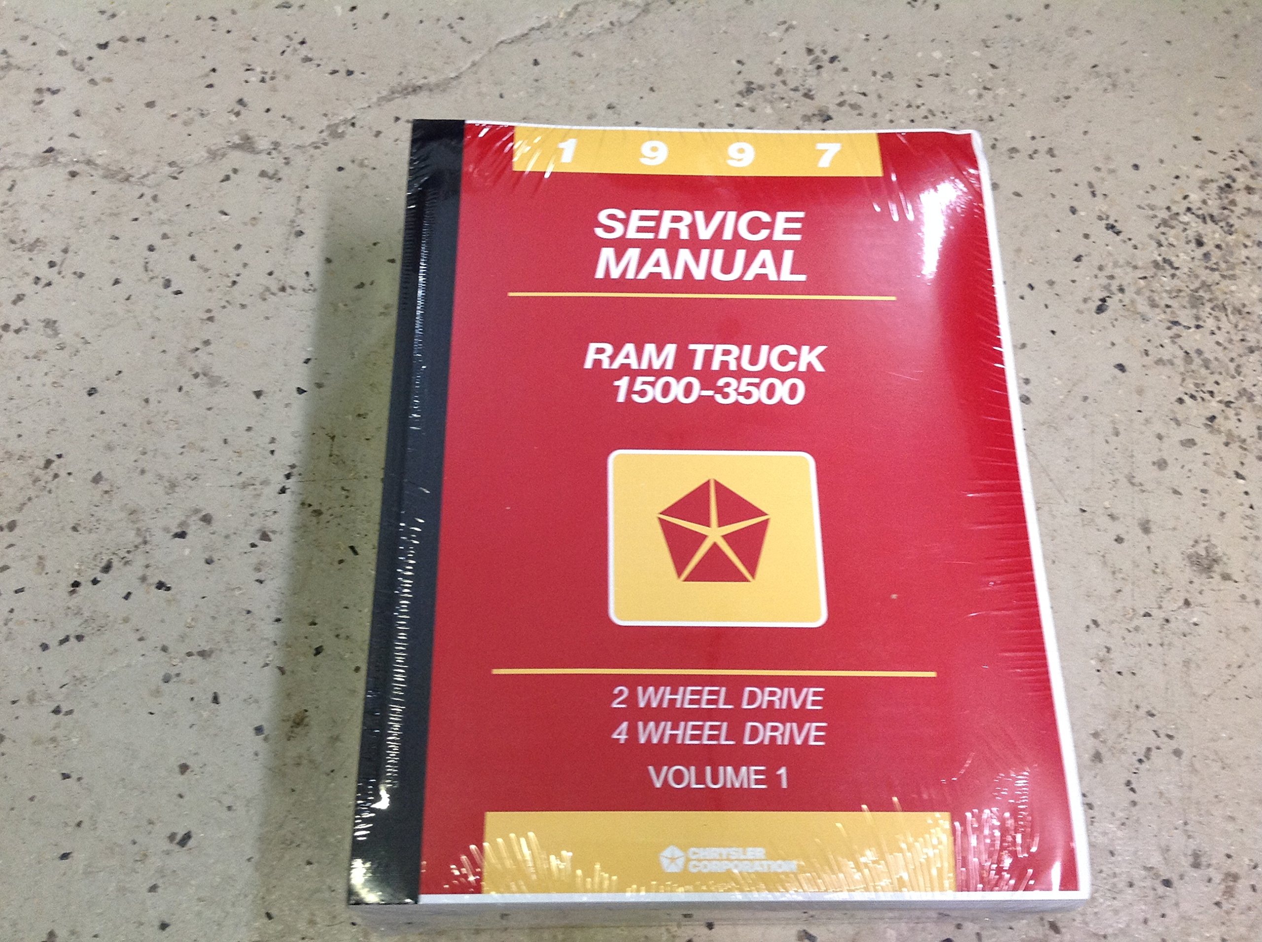 1997 Dodge Ram Truck 1500 2500 3500 Service Shop Repair Manual NEW Factory  97: CHRYSLER: Amazon.com: Books