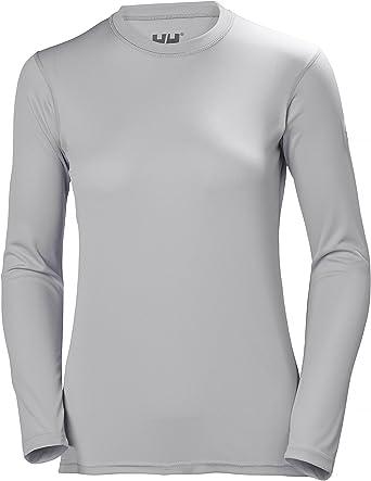 Helly Hansen HH Tech Crew - Camiseta Deportiva Manga Larga Mujer: Amazon.es: Ropa y accesorios