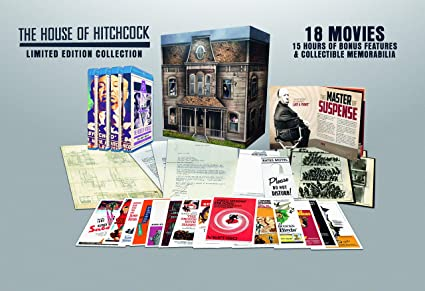 Hitchcock Collection- House of Hitchcock Blu-ray 2019 Region